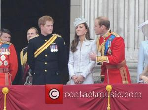 Prince William, Prince Harry and Duchess Of Cambridge