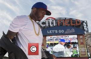 50 Cent - 50 Cent performs live at Citi Field to kick off The New York Mets 2014 post-game concert...