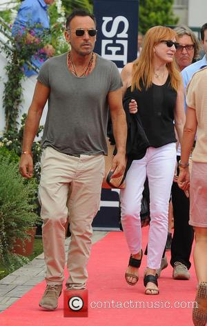 Bruce Springsteen - Jessica Springsteen takes part in The Cannes International Jumping Grand Prix - Cannes, France - Saturday 14th...