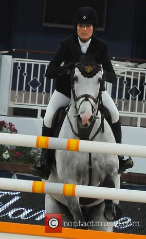 Jessica Springsteen - Jessica Springsteen takes part in The Cannes International Jumping Grand Prix - Cannes, France - Saturday 14th...