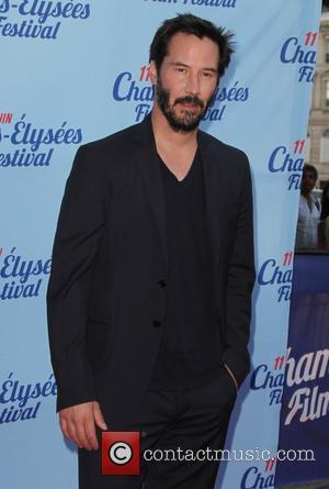 Keanu Reeves - Champs-Élysées Film Festival - 'Man of Tai Chi' - Premiere - Paris, France - Saturday 14th June...