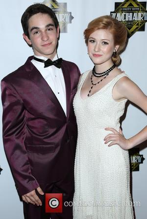 Zachary Gordon and Katherine Mcnamara