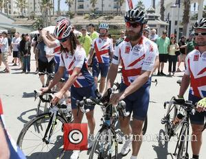 James And Pippa Middleton Begin 3,000 Mile Charity Bike Ride Across America