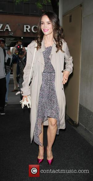 Abigail Spencer - Celebrities arrive at 'The Today Show' studios - Ny, New York, United States - Saturday 14th June...