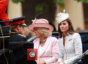 Kate Middleton, Catherine Middleton, The Duchess Of Cambridge, Camilla Duchess Of Cornwall and Prince Harry