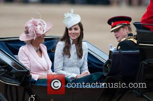 Camilla, The Duchess Of Cornwall, Kate, The Duchess Of Cambridge and Prince Harry