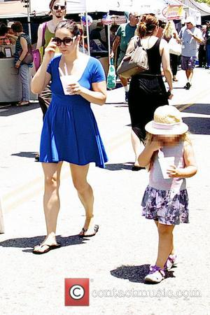 Ariel Winter - Ariel Winter enjoys Father's Day with family at Studio City Farmers Market taking her father and her...