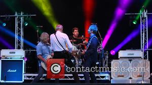 Status Quo - Status Quo headline The Zippo Encore stage on day 2 of Download Festival at Donnington Park -...
