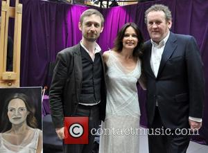 Neil Hannon, Sharon Corr and Colm Meaney