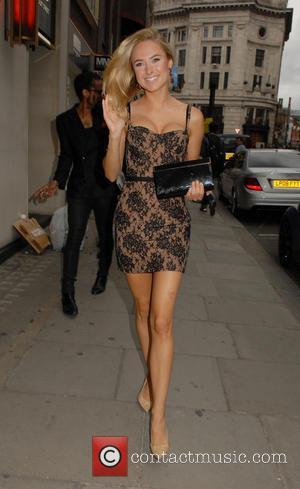 Kimberley Garner - Celebrities attend LCM s/s 2015: Velsvoir presentation & party at Sketch - London, United Kingdom - Sunday...