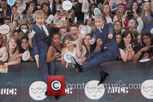Jedward - 2013 MuchMuch Video Awards (MMVA) - Red Carpet Arrival - Toronto, Canada - Sunday 15th June 2014