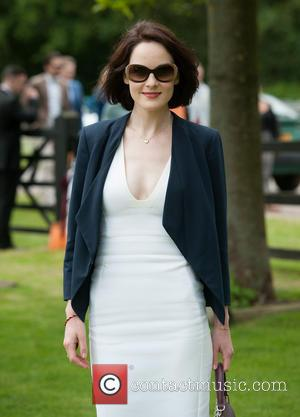 Michelle Dockery - Cartier Polo Cup held at Guards Polo Club. - London, United Kingdom - Sunday 15th June 2014