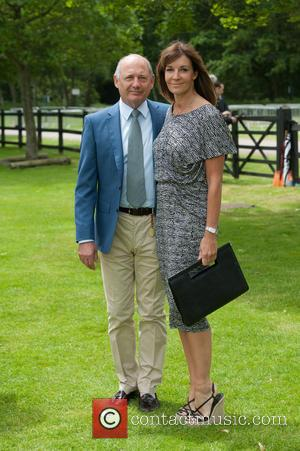 Ron Dennis and Lisa Dennis - Cartier Polo Cup held at Guards Polo Club. - London, United Kingdom - Sunday...