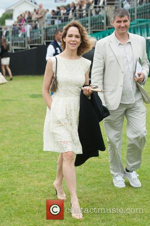 Frances O'Connor and Guest - Cartier Polo Cup held at Guards Polo Club. - London, United Kingdom - Sunday 15th...