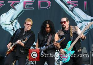 Twisted Sister, Mark Mendoza, Jay Jay French and Eddie Ojeda