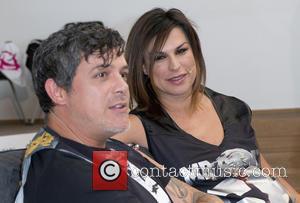 Alejandro Sanz and Raquel Perera - Alejandro Sanz and his wife Raquel Perera launch the new Rosas & Beats collection...