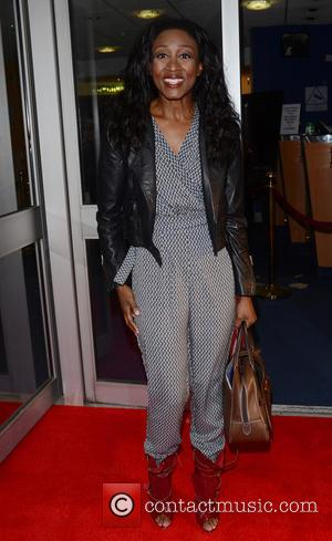 Beverley Knight - Screening of 'Jersey Boys' at Odeon, Leicester Square - London, United Kingdom - Monday 16th June 2014