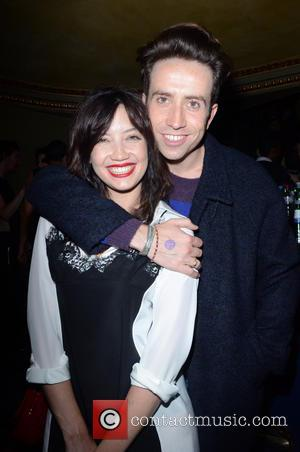 Daisy Lowe and Nick Grimshaw