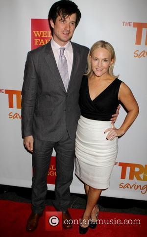 Christian Hebel and Rachel Harris