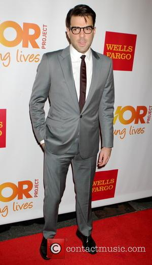 Zachary Quinto - The Trevor Project 2014 'TrevorLIVE NY' event at the Marriott Marquis Hotel - New York City, New...