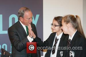 Michael Bloomberg - London Mayor Boris Johnson and former New York Mayor Michael Bloomberg kick off London Technology week at...