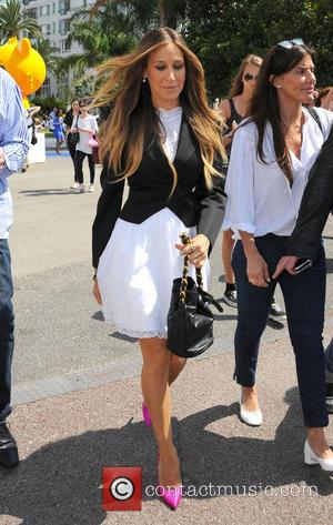 Sarah Jessica Parker - Sarah Jessica Parker arrives to attend a Q&A session at the Cannes Lions International Festival of...