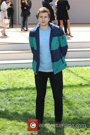 Greg James - London Fashion Week Men's Ready-To-Wear Summer 2015 - Burberry  Prorsum - Arrivals - London, United Kingdom...