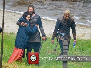 Amy Bailey, Clive Standen and Alexander Ludwig