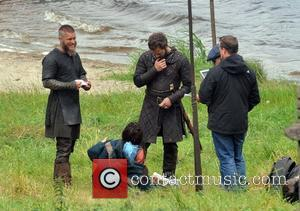 Travis Fimmel - Filming takes place on Season 3 of The History Channel's 'Vikings' on location in County Wicklow. The...