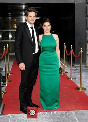 America Ferrera and Ryan Piers Williams - America Ferrera and her husband Ryan Piers Williams arrive at the after party...