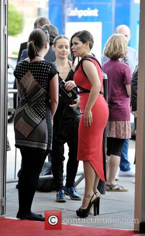 America Ferrera - America Ferrera and Ryan Piers Williams attend the International premiere of X/Y in Edinburgh. - Edinburgh, United...