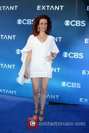 Annie Wersching - CBS Television presents 'Extant' premier screening and party - Arrivals - Los Angeles, California, United States -...