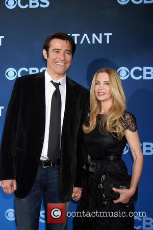 Goran Visnjic and wife - CBS Television presents 'Extant' premier screening and party - Arrivals - Los Angeles, California, United...