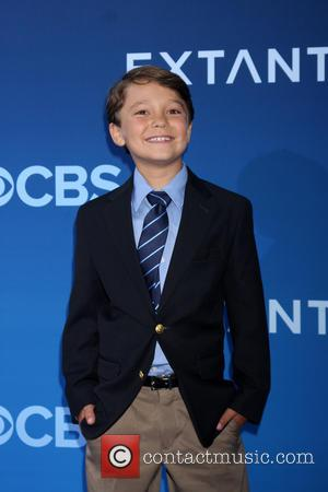 Pierce Gagnon - CBS Television presents 'Extant' premier screening and party - Arrivals - Los Angeles, California, United States -...