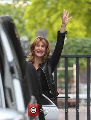 Laura Dern - Laura Dern outside ITV Studios - London, United Kingdom - Tuesday 17th June 2014