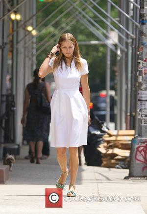 Jessica Hart - Jessica Hart seen in  the East Village in New York City - New York City, New...
