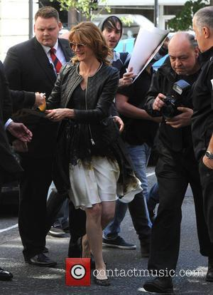 Laura Dern - Laura Dern at the BBC Radio 2 studios - London, United Kingdom - Tuesday 17th June 2014