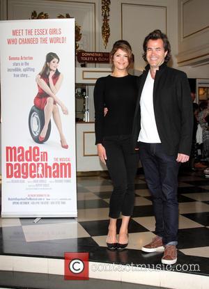 Gemma Arterton and Rupert Goold