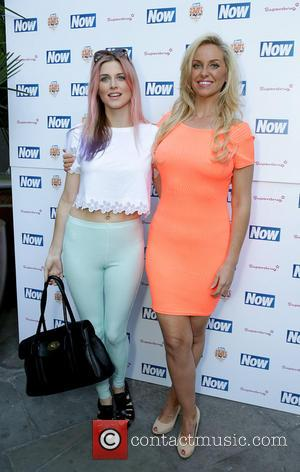 Ashley James and Josie Gibson - The Now & Solait VIP Beach Party at Kanaloa in London - London, United...