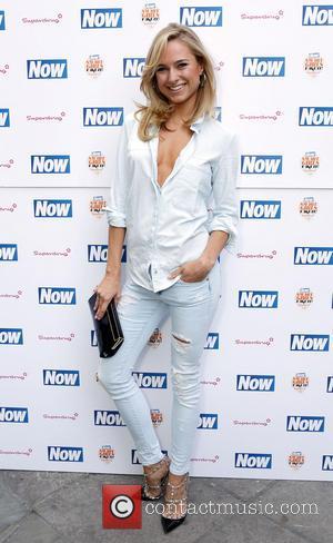 Kimberley Garner - The Now & Solait VIP Beach Party at Kanaloa in London - London, United Kingdom - Tuesday...