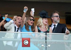 Danielle Lineker and Bruno Tonioli - 2014 Royal Ascot - Atmosphere and Celebrity Sightings - Day 1 - Ascot, United...
