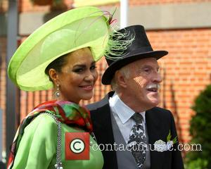 Wilnelia Mecred and Sir Bruce Forsyth - 2014 Royal Ascot - Atmosphere and Celebrity Sightings - Day 1 - Ascot,...