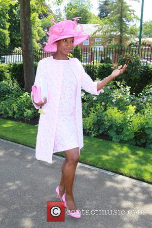 Denise Lewis - 2014 Royal Ascot - Atmosphere and Celebrity Sightings - Day 1 - Ascot, United Kingdom - Tuesday...