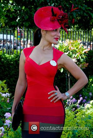 Sofia Hayat - 2014 Royal Ascot - Atmosphere and Celebrity Sightings - Day 1 - Ascot, United Kingdom - Tuesday...