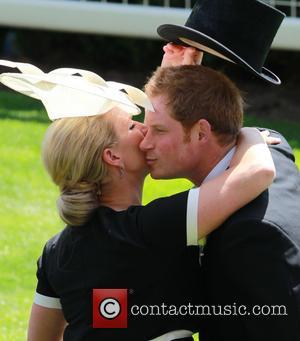 Prince Harry and Zara Philips