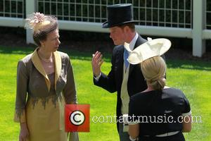 Prince Harry, Zara Philips and Princess Anne