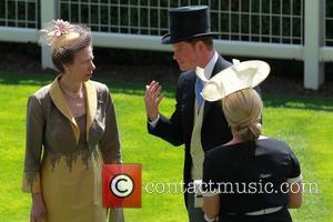 Prince Harry, Zara Philips and Princess Anne