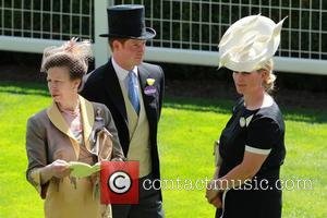 Prince Harry, Princess Anne and Zara Philips