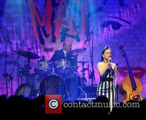 Imelda May - Imelda May performing live on stage at Vicar Street as part of her two sell out shows...