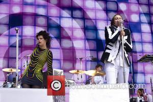 Régine Chassagne and Win Butler (arcade Fire)